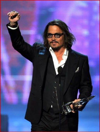 Johnny Depp 2011 Peoples Choice Awards