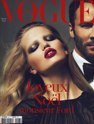 VOGUE Paris Christmas cover © Mert & marcus