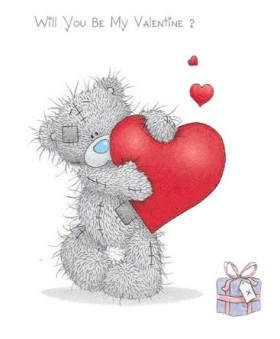 tatty teddy be my valentines