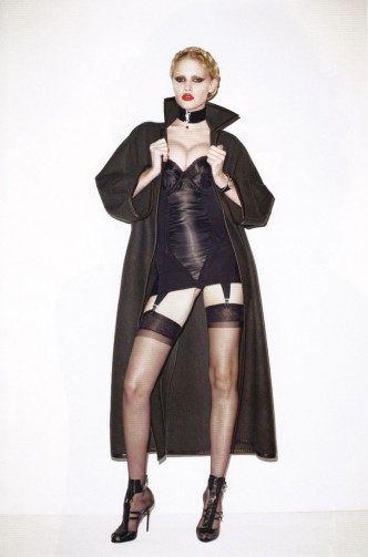 Lara Stone for Vogue Paris © Terry Richardson
