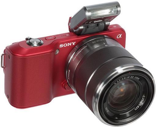 sony-nex-3-red-with-flash