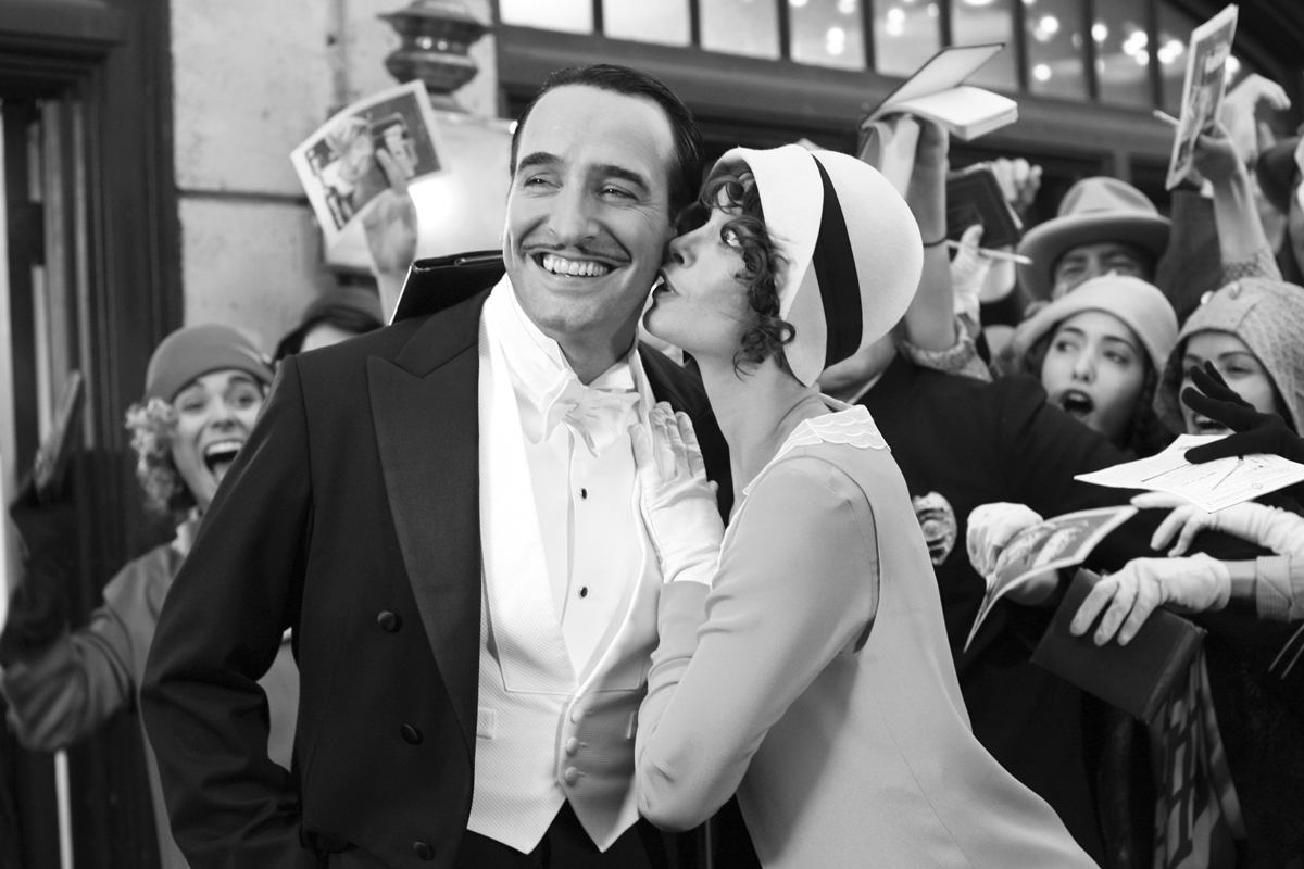 Jean Dujardin and Berenice Bejo in The Artist directed by Michel Hazanavicius