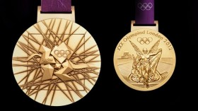 Olympics London 2012 Gold Medal Design