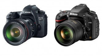 Canon EOS 6D and Nikon D600