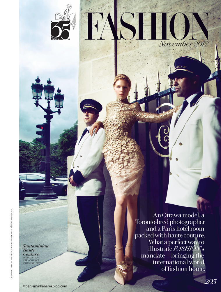 A Canadian In Paris Nominated For Video Of The Year For Fashion Magazine Benjamin Kanarek Blog