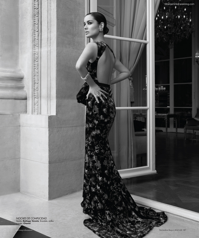 james bond skyfall girl berenice marlohe photographed by benjamin kanarek for harpers bazaar. Black Bedroom Furniture Sets. Home Design Ideas