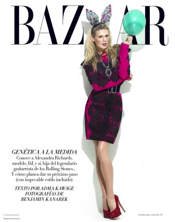Alexandra Richards for Harper's Bazaar © Benjamin Kanarek