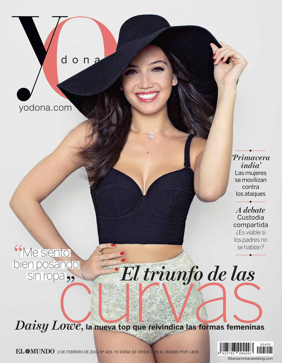 Yo Dona Cover with Daisy Lowe Photo © Benjamin Kanarek