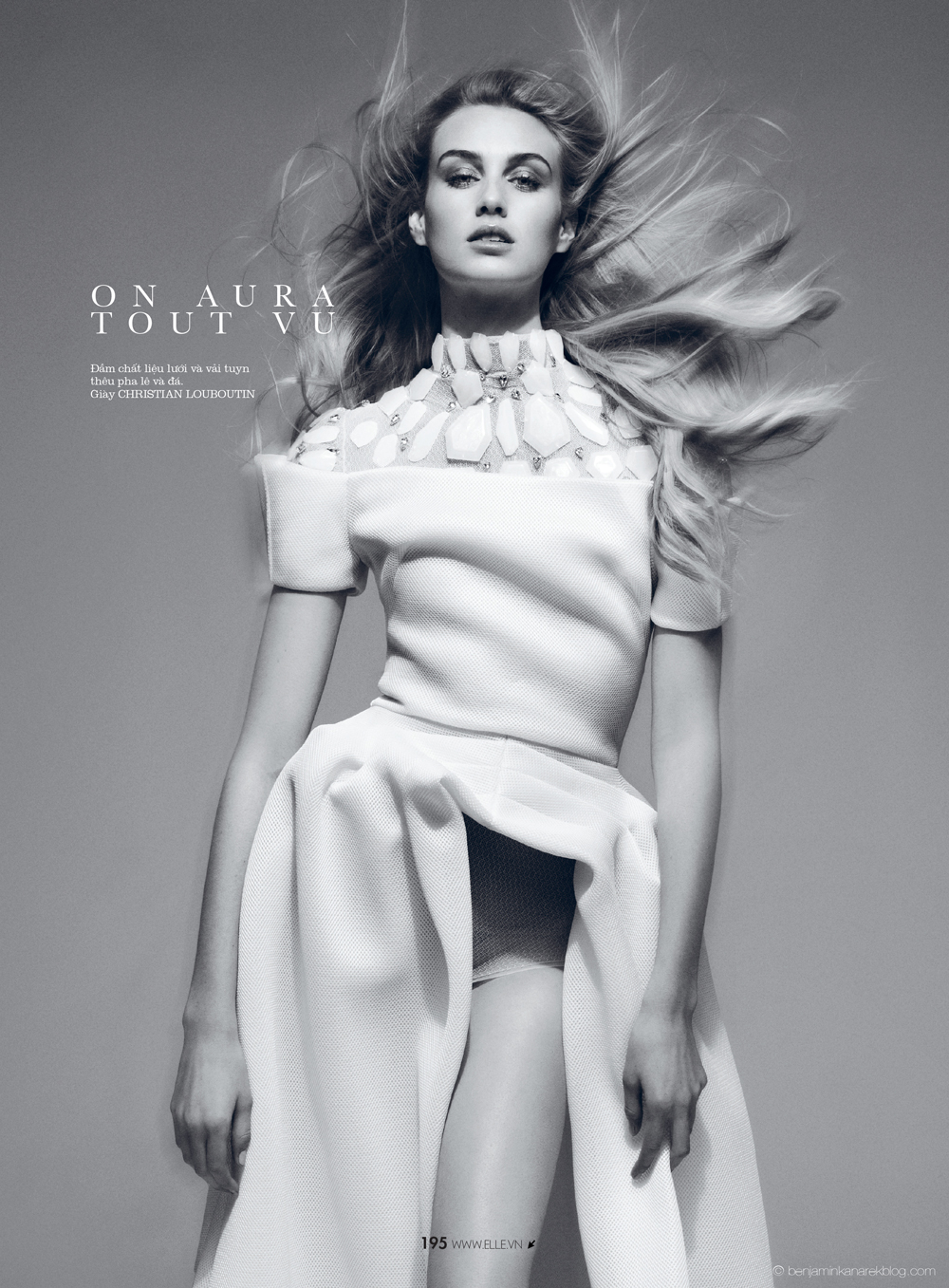 Dauphine McKee in On Aura Tout Vu © Benjamin Kanarek for ELLE Vietnam April 2014