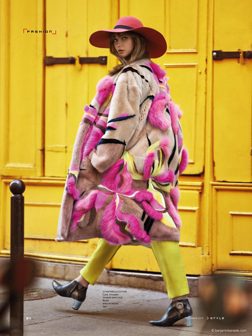 Alexandra Tikerpuu in Pride of Paris by Benjamin Kanarek