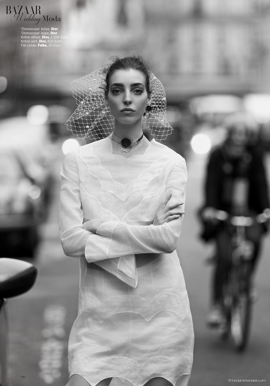 Dajana Antic wearing Dior © Benjamin Kanarek