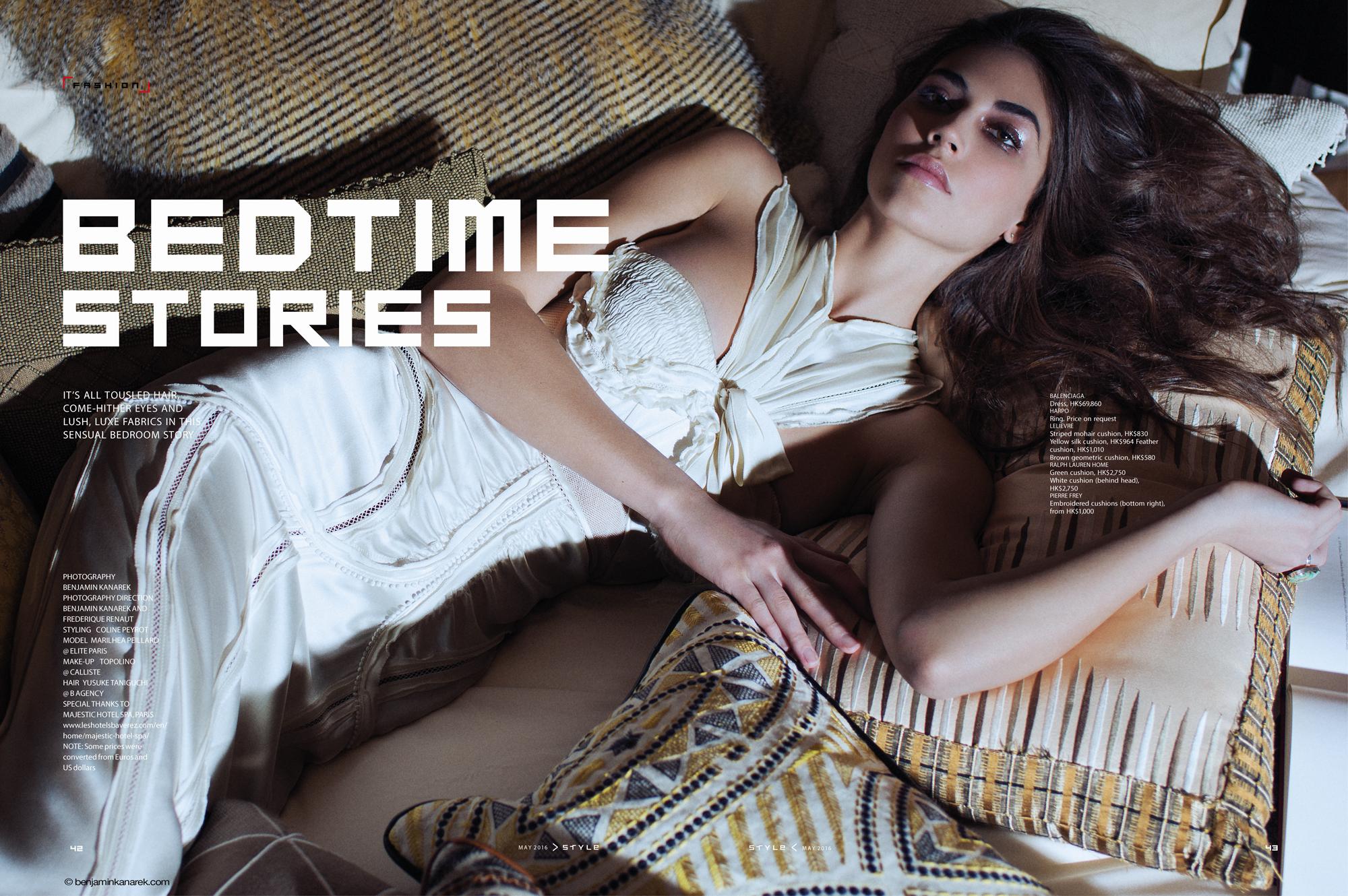Marilhéa Peillard in Bedtime Stories