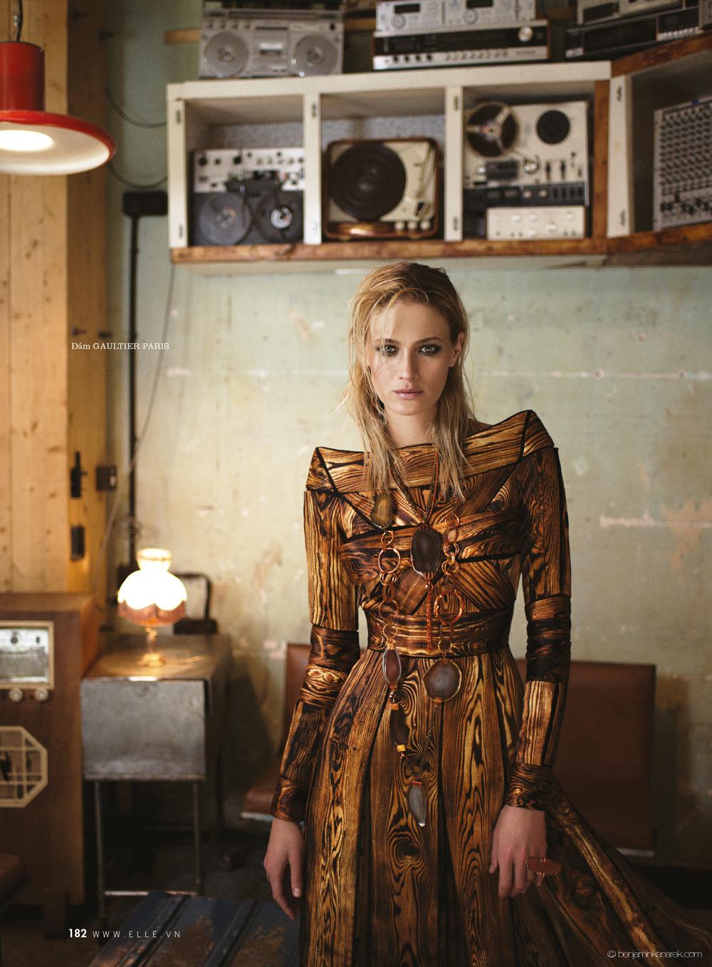 Michelle Buswell Gaultier Paris @ Benjamin Kanarek
